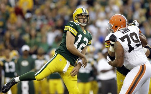 Packers turn ball over, lose to Browns 35-10