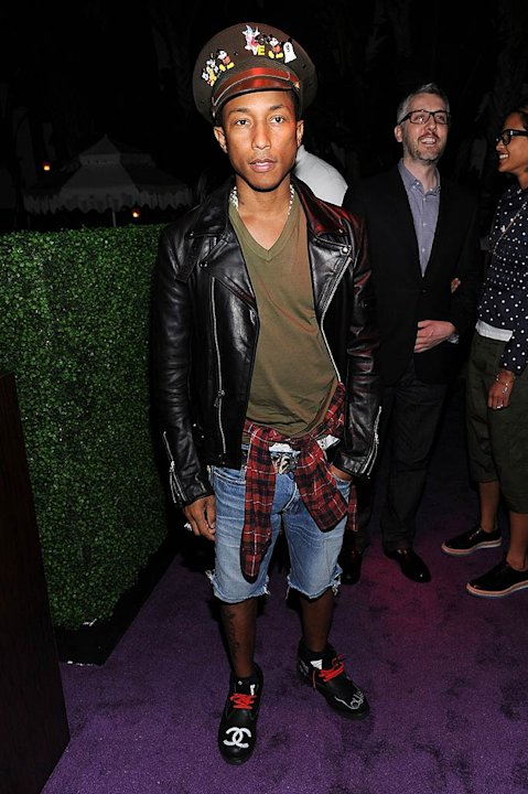 Pharrell Williams MOCA Art Basel Event