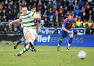 Neil Lennon feels Celtic can cope without Scott Brown, pictured, on Tuesday