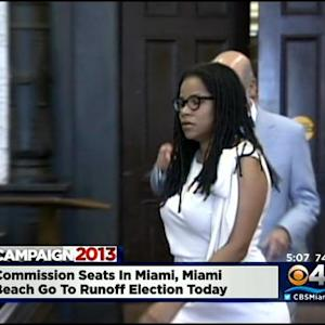 Commission Seats In Miami & Miami Beach Go To Runoff Election Tuesday