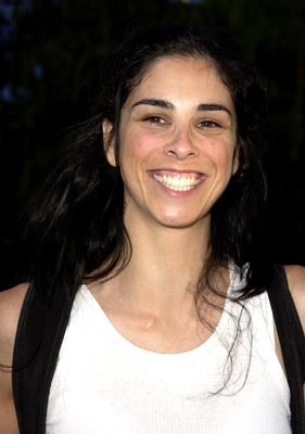 Sarah Silverman at the LA premiere of New Line's Austin Powers in Goldmember