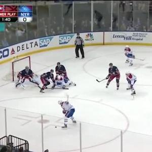 Henrik Lundqvist Save on Andrei Markov (19:47/2nd)