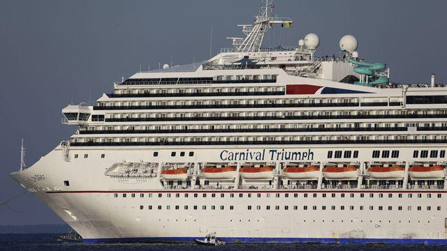 Health concerns about crippled cruise ship