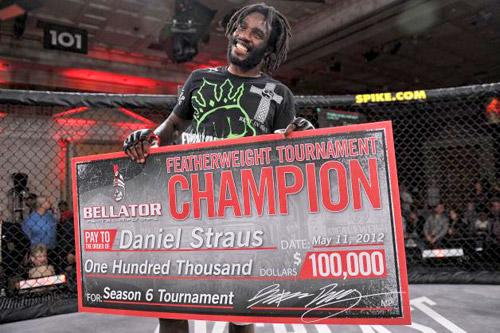 Featherweight Title Logjammed, Daniel Straus Staying Busy at Bellator 78