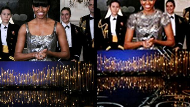 Iran news agency alters Michelle Obama's Oscar look