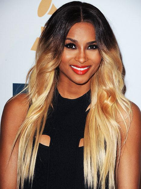 Whoa! Ciara Goes Blonde With Major Dark Roots