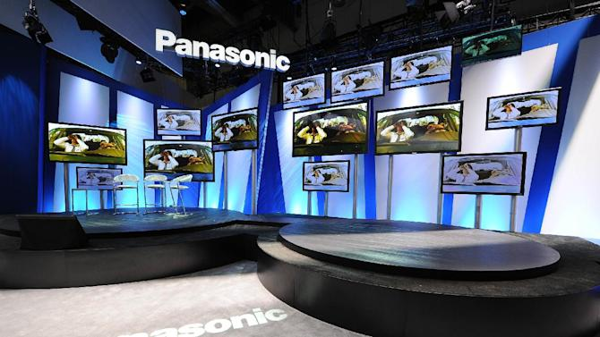 IMAGE DISTRIBUTED FOR PANASONIC - A view of the Panasonic booth at The 2013 International Consumer Electronics Show, on Tuesday, Jan. 08, 2013, in Las Vegas, NV. (Photo by Al Powers/Invision for Panasonic/AP Images)