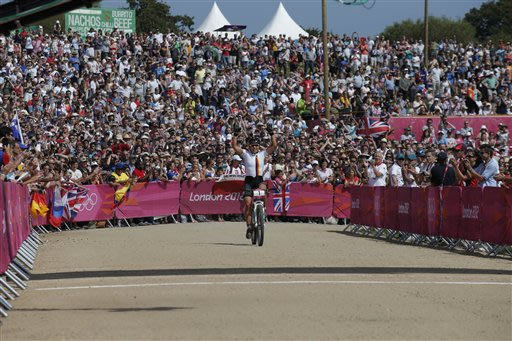 London Olympics Mountain Bike Cycling Women