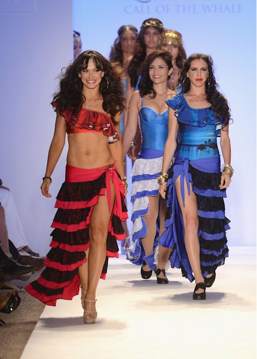 Lisa Blue - Mercedes-Benz Fashion Week Swim 2013 - Show