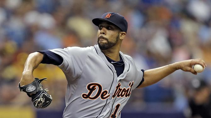 Rays get just 1 hit off Price, beat Tigers 1-0