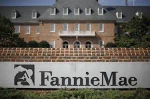 The headquarters of mortgage lender Fannie Mae is shown in Washington