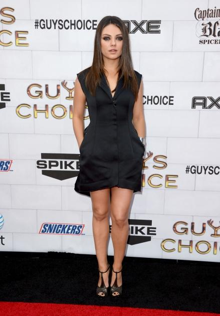 Mila Kunis arrives at Spike TV's 6th Annual 'Guys Choice Awards' at Sony Pictures Studios in Culver City, Calif., on June 2, 2012 -- Getty Images