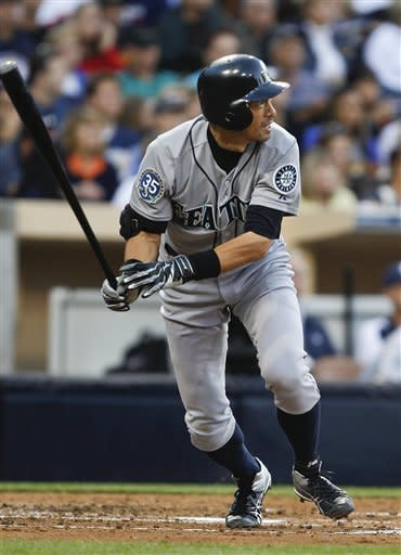 Richard leads Padres to 9-5 win over Mariners