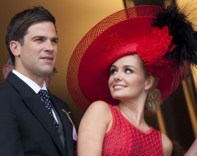 Katherin Jenkins and Gethin Jones