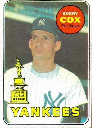 Before the Atlanta Braves, Bobby Cox Made His Bones With the New York Yankees
