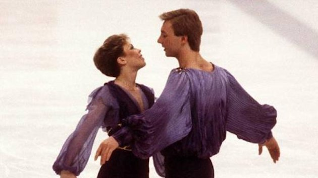 FIGURE SKATING Jayne Torvill and Christopher Dean 1984 Olympics