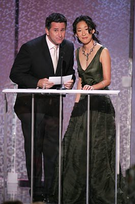 Anthony LaPaglia and Sandra Oh Screen Actors Guild Awards - 2/5/2005