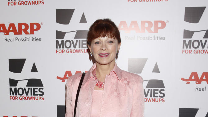Frances Fisher attends AARP The Magazine's 12th Annual Movies for Grownups Awards at The Peninsula Hotel on February 12, 2013 in Beverly Hills, California. (Photo by Todd Williamson/Invision for AARP Magazine/AP Images)