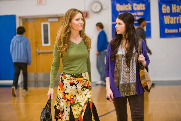 17 Again New Line Cinema Production Photo 2009 Leslie Mann Michelle Trachtenberg
