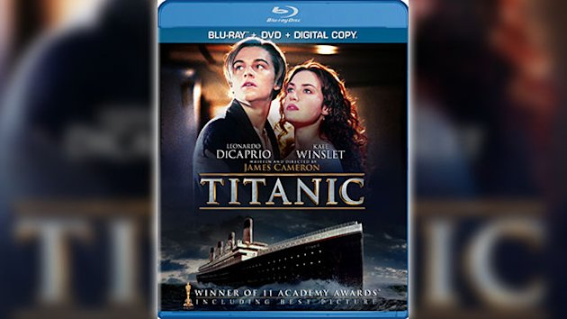 First Look: New 'Titanic' Box Art