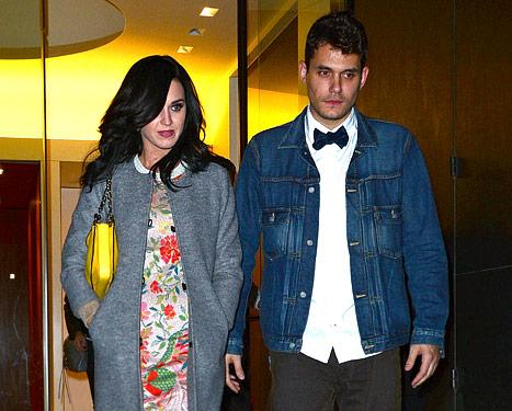 "Katy Perry, John Mayer ""So Affectionate"" at Pal's Star-Studded Bash"