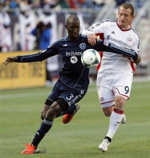 Revolution, Sporting KC tie 0-0