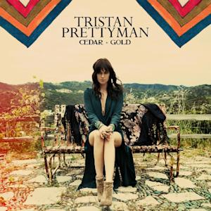 "This CD cover image released by EMI/Capitol shows the latest release by Tristan Prettyman, ""Cedar + Gold."" (AP Photo/EMI/Capitol)"
