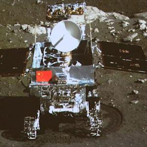 China lands rover on the moon