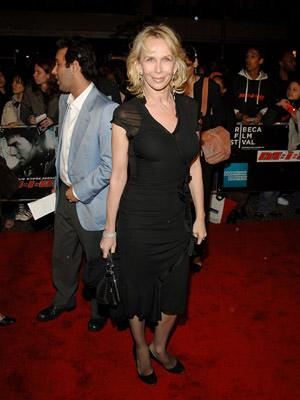 Trudie Styler at the NY premiere of Paramount's Mission: Impossible III