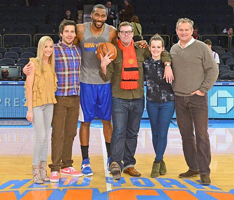Downton Abbey Cast Visits New York City, Hangs With Knicks Player Amar'e Stoudemire