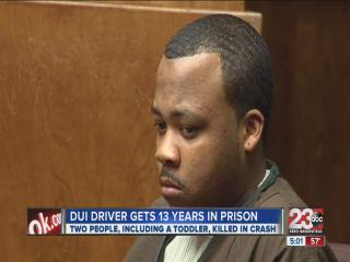 DUI driver gets maximum sentence for killing 2 people