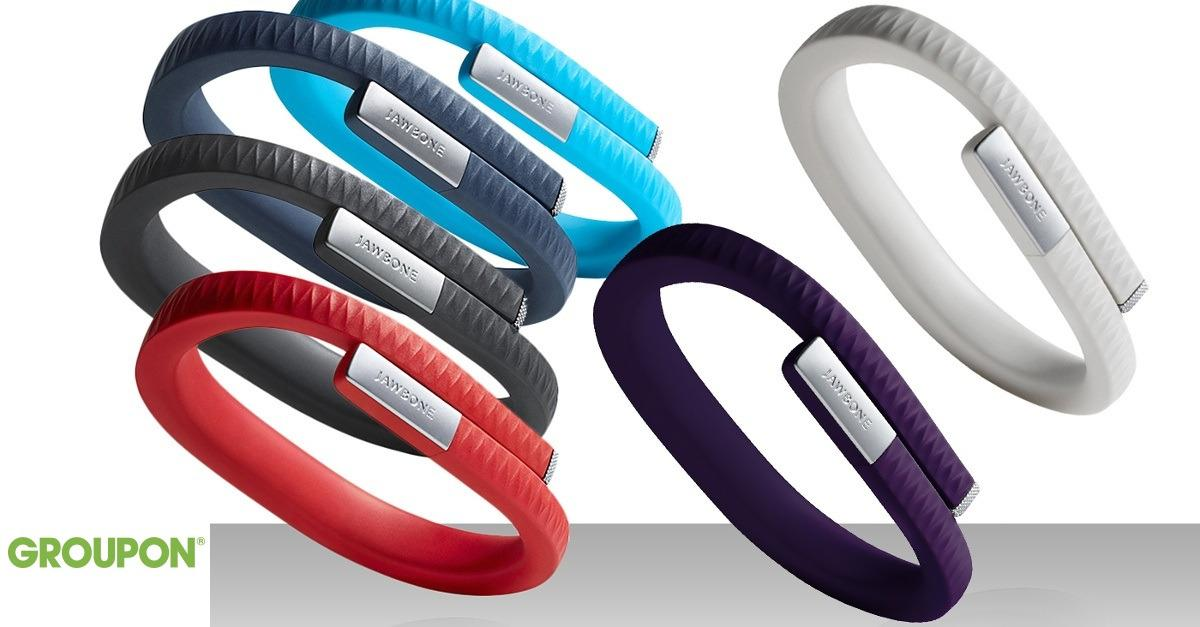 Track your steps with 62% off the Jawbone UP Band