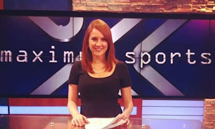 Jessica Ghawi, 24, aspired to be a national sports reporter. She was killed three years ago in the Colorado movie theater rampage. (AP/Courtesy of the family)