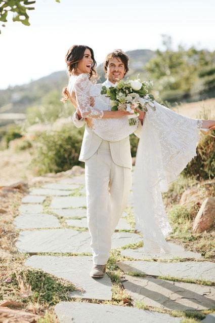 Inside Nikki Reed and Ian Somerhalder's Fairytale Wedding – See the Gorgeous Pics!