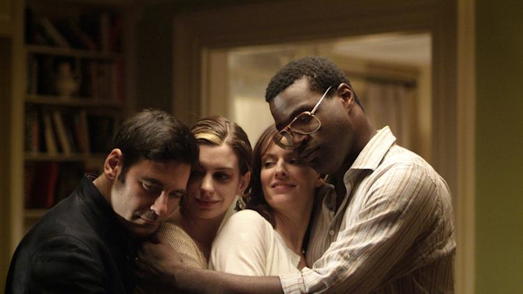 Mather Zickel Anne Hathaway Rosemarie DeWitt Tunde Adebimpe Rachel Getting Married Production Stills Sony Pictures Classics 2008