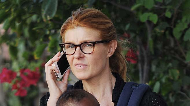 Connie Britton The Ivy Restaurant