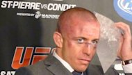 How To Profit On Stocks Taking Minimal Risk Like UFC George St Pierre image gsp hurt