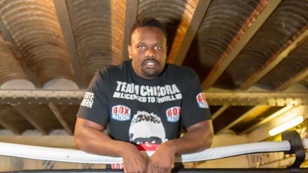 Dereck Chisora (photo: Neill Hamersley)