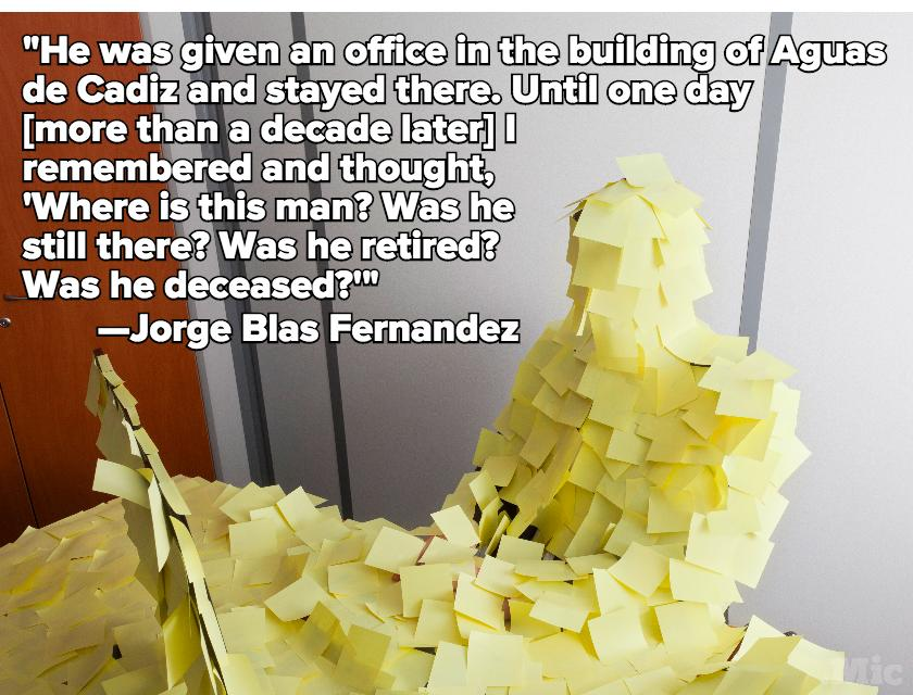 A Spanish Man Stopped Doing His Job — And It Took His Boss 6 Years to Notice
