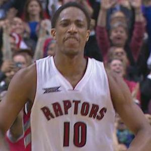 DeRozan Seals It