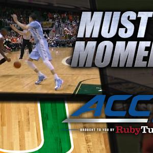 Miami's Davon Reed's Sick Crossover, Hoop And-1 | ACC Must See Moment
