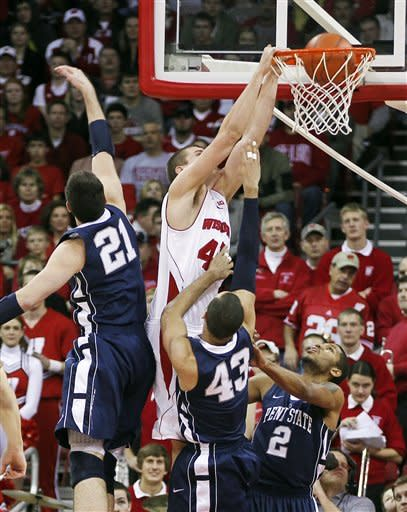 Balanced Wisconsin holds off Penn State 60-51
