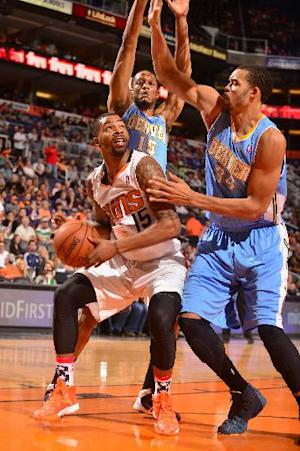 Morris brothers help Suns rally past Nuggets