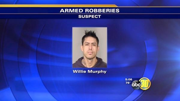 FPD: Fresno man identified for robbery spree
