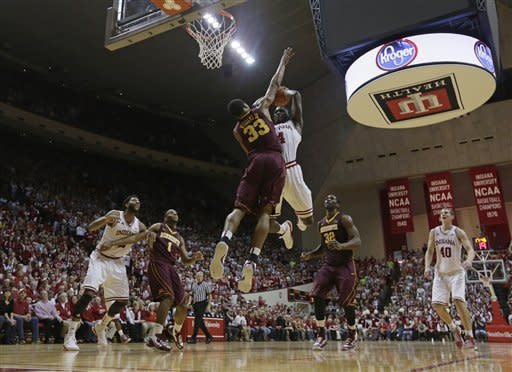 No. 5 Hoosiers blow past No. 8 Minnesota 88-81