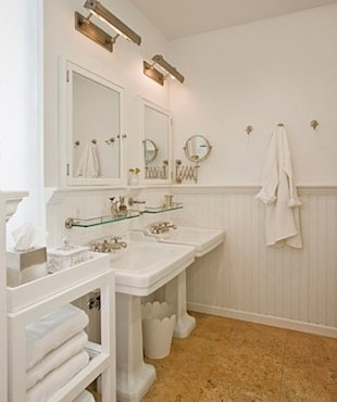 The White-Themed Bathroom