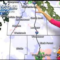 Wednesday Afternoon Forecast: Snow Moves Into Metro Area