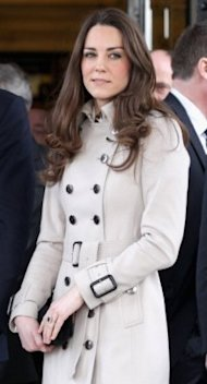 Kate Middleton in Belfast, Northern Ireland, on March 8, 2011. (Photo: Chris Jackson/Getty Images) 