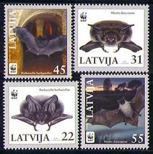 Postage Stamps Overlook Earth's Tiny Creatures