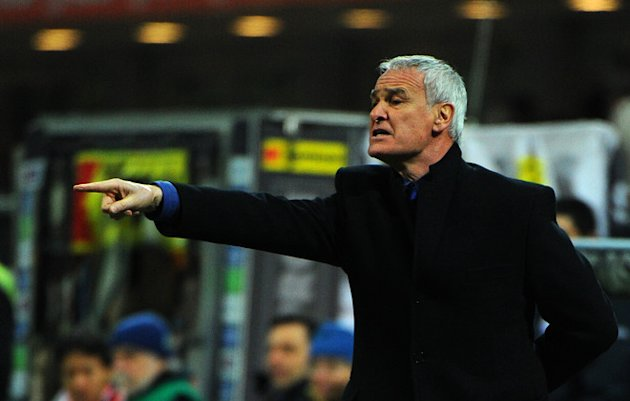 Inter Milan's Coach Claudio Ranieri Gestures AFP/Getty Images